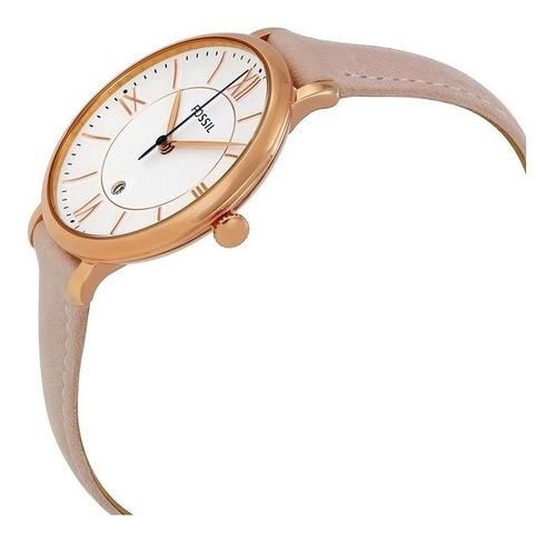 reloj fossil es3988 para mujer pulso cuero rosa 100 original
