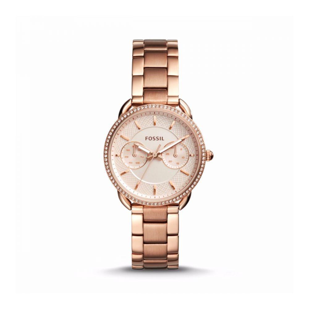 82c5273f41c6 Reloj Fossil Es4264 Acero Oro Rosa Mujer -   449.900 en Mercado Libre