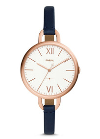 2c3c6b123f02 Fossil Es3265 Reloj Piel Blanco Rosa Envio Gratis  ituxs - Relojes ...