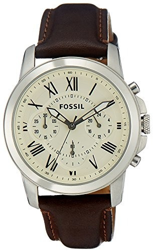reloj fossil fs4839 marrón