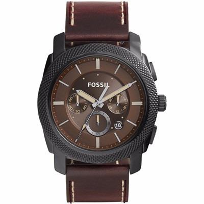 2b6165dd62ad Reloj Fossil Fs5121 Correa De Cuero Para Caballero Cafe ...