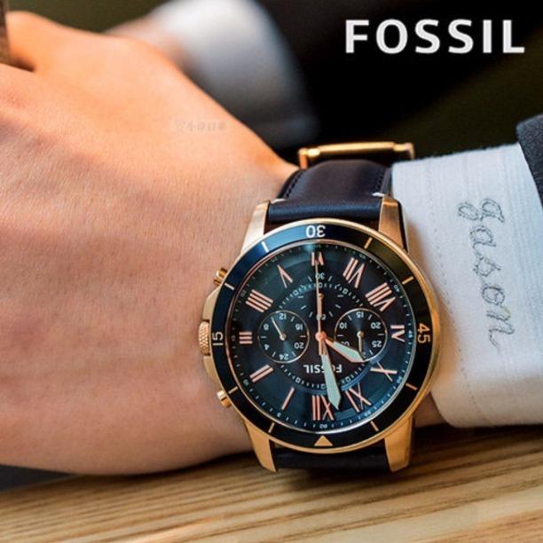 d3933e13f440 Reloj Fossil Fs5237 Correa De Cuero - 100% Nuevo Y Original - S  449 ...