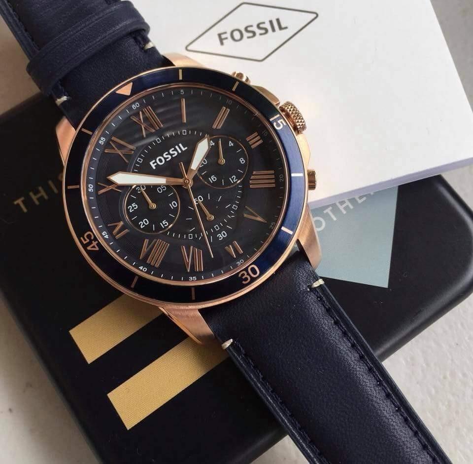 a9bd464bec16 reloj fossil fs5237- nuevo y original tienda relojeando. Cargando zoom.