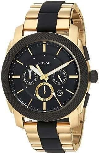 Reloj fossil dorado hombre precio