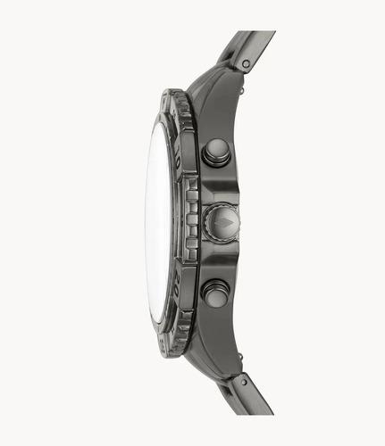 reloj fossil garett fs5621 cronógrafo acero inoxidable
