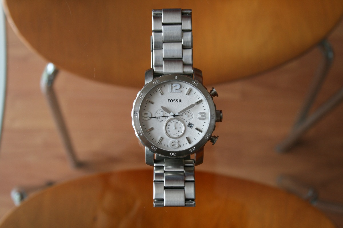 6499090b6b5a reloj fossil grande modelo jr1444 - muy poco uso - caballer. Cargando zoom.