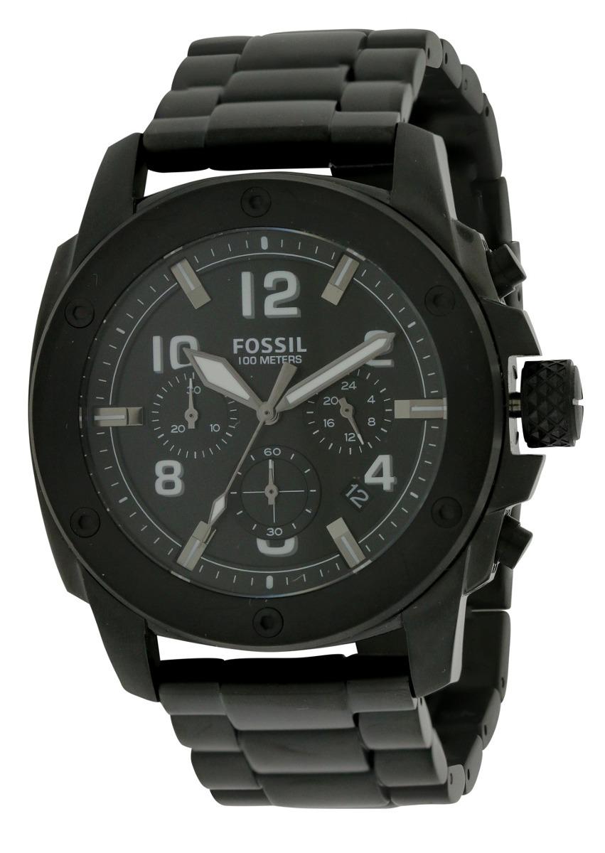 Reloj Fossil Para Hombre Maquina Moderna Negro Acero -   5 ca892eb09fe5