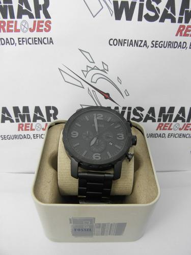 reloj fossil hombre cronógrafo jr1401 original100% enviógtis