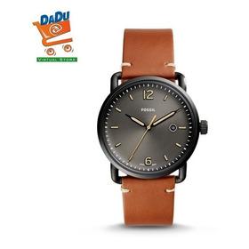 Reloj Fossil Hombre Fs5276 - Cuero - Original - Nuevo