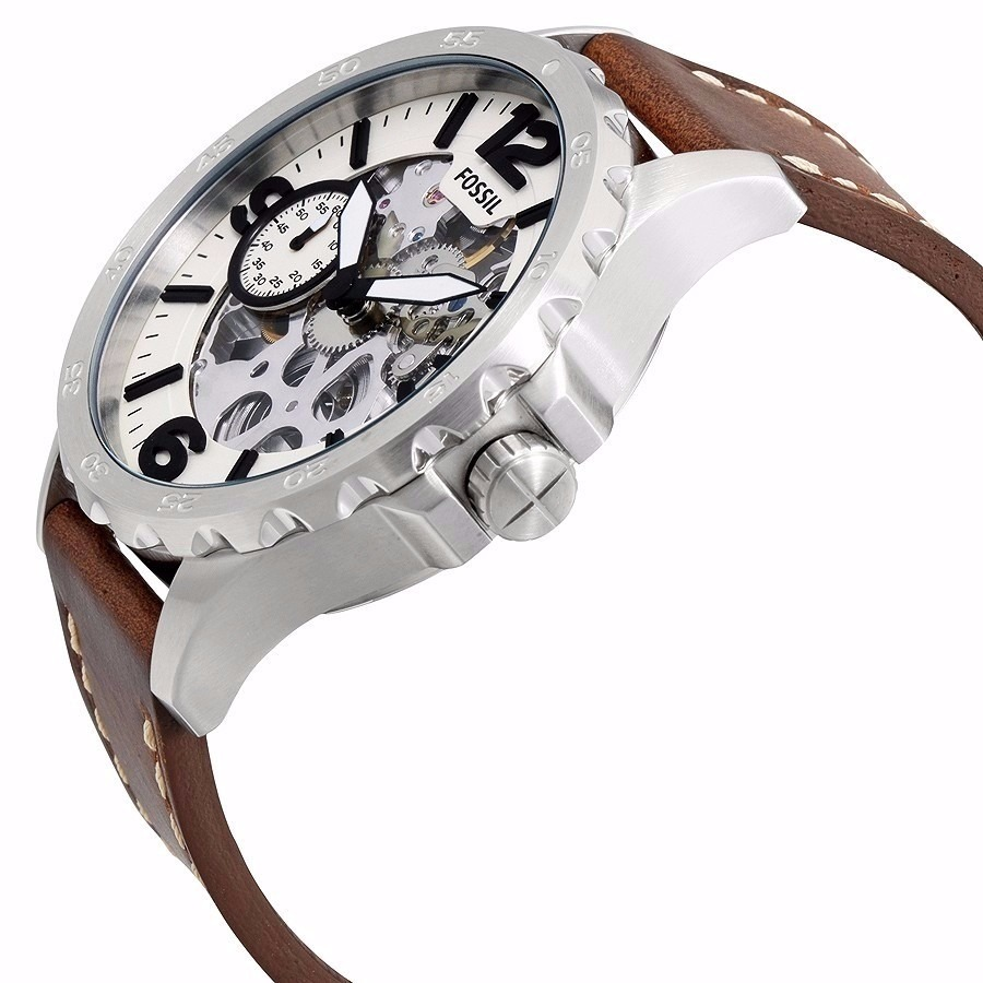 3af2694da539 reloj fossil hombre nate me3128 mecánico sin batería nuevo. Cargando zoom.