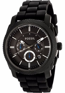01519db4b6f4 Reloj Fossil Machine Fs4487 Hombre Deportivo Negro - S  439