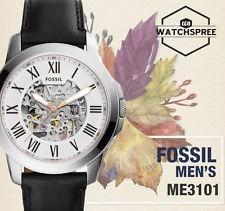 reloj fossil me3101 automatico 100% original