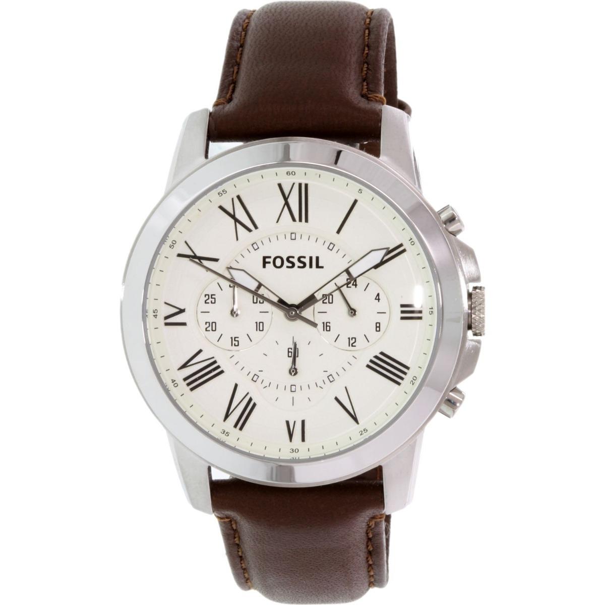 015c3598f82d Reloj Fossil Men s Grant Fs4735 - Manilla Cuero Marrón -   280.000 ...