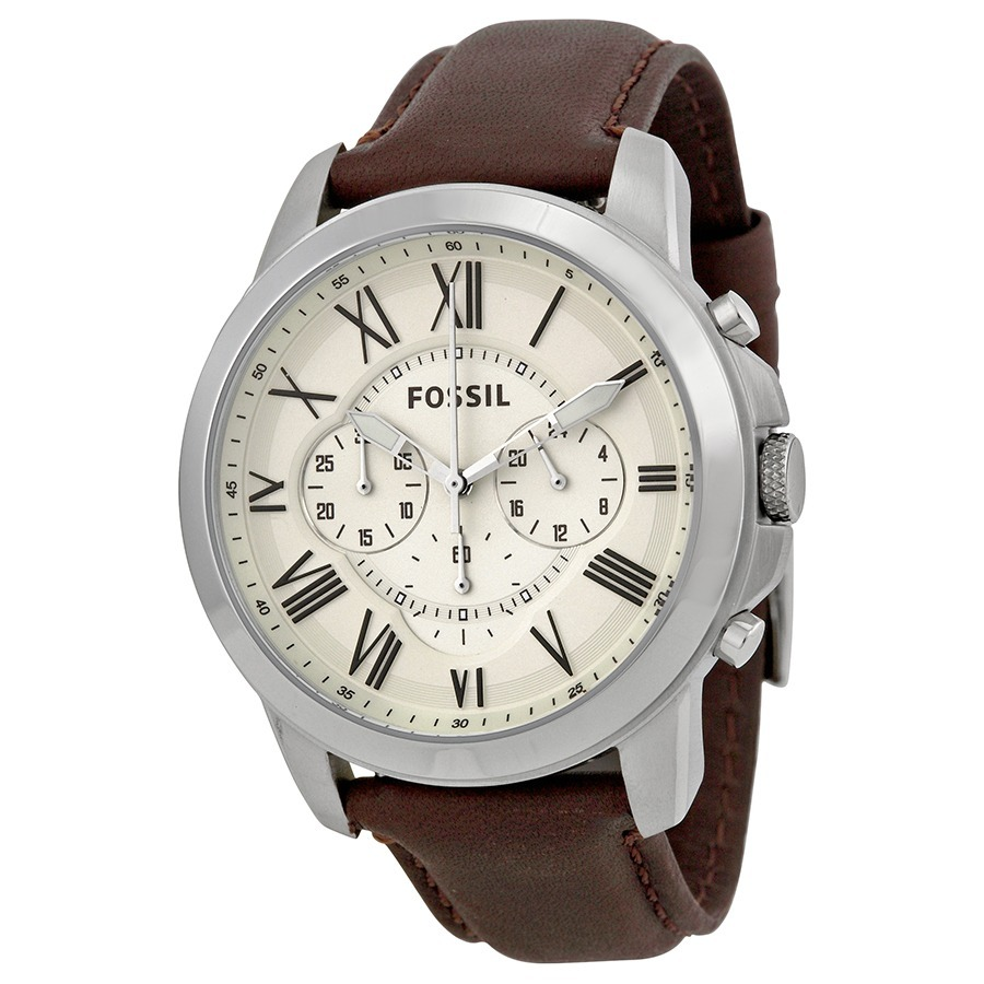 b665b7fcca65 Reloj Fossil Men s Grant Fs4735 - Manilla Cuero Marrón -   280.000 ...