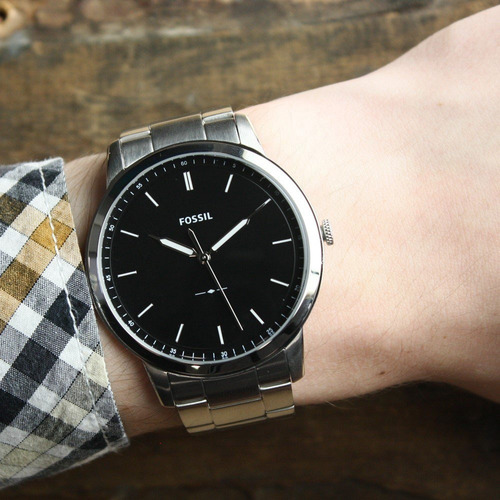 reloj fossil minimalist fs5307 original caja con garantia