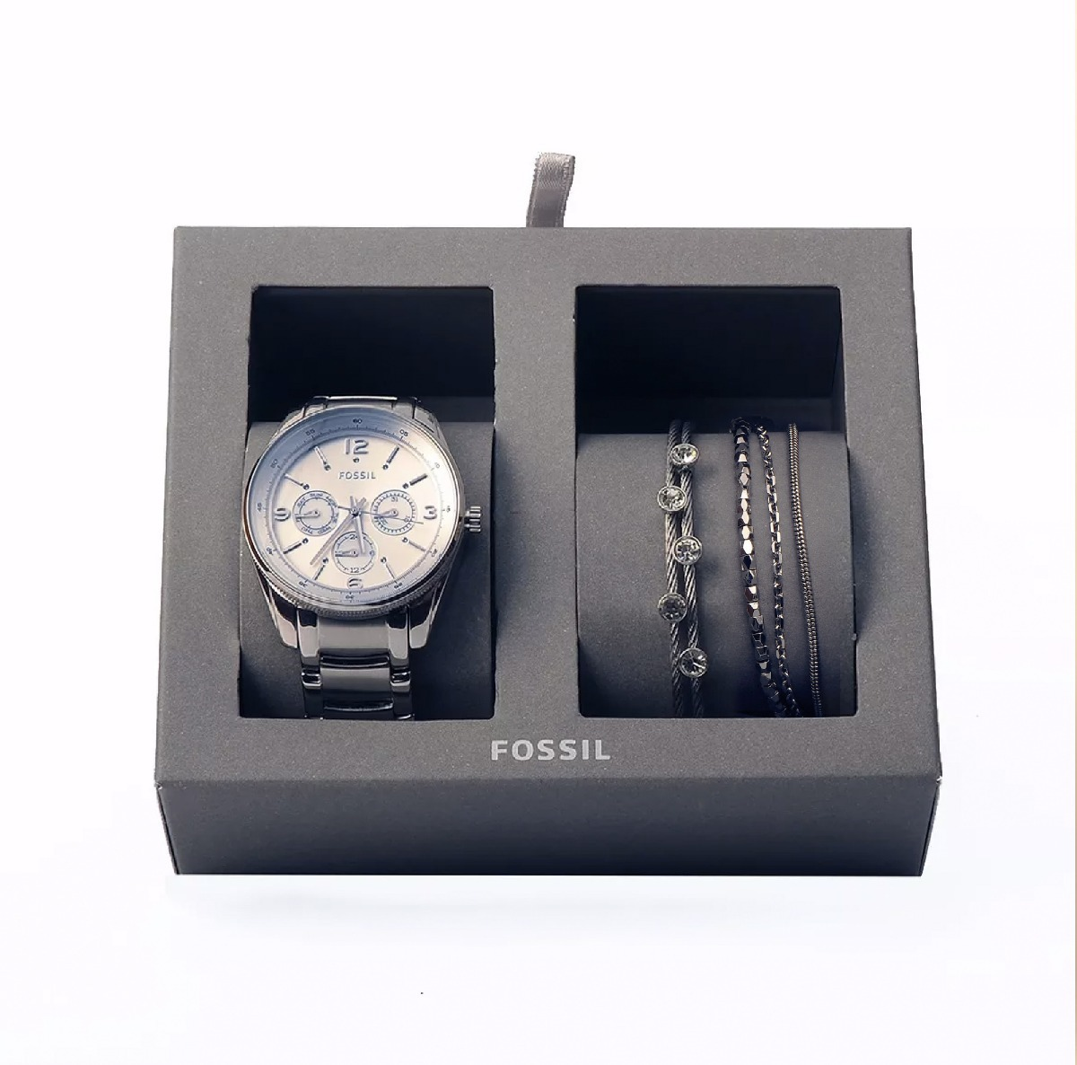 ed74c7c1e208 reloj fossil mujer + 2 pulseras set original envío gratis. Cargando zoom.