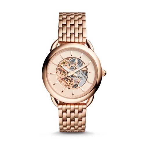 26d4ef52c6be Reloj Fossil Me3145 Acero Oro Rosa Mujer -   479.900 en Mercado Libre