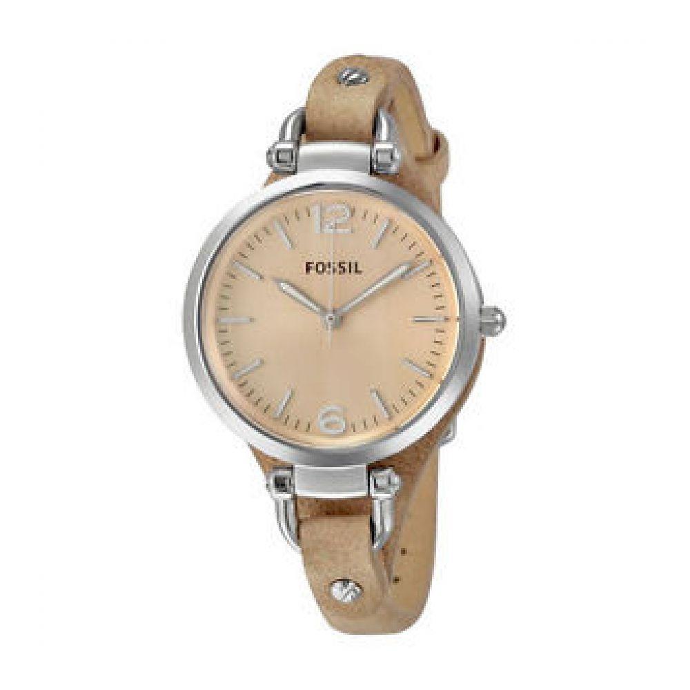 ca19e03f4c59 Reloj Fossil Es2830 Cuero Beige Mujer -   239.900 en Mercado Libre