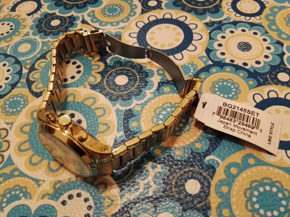 13dc8de33885 Reloj Fossil Dorado Mujer Modelo Bq2145set -   2.500