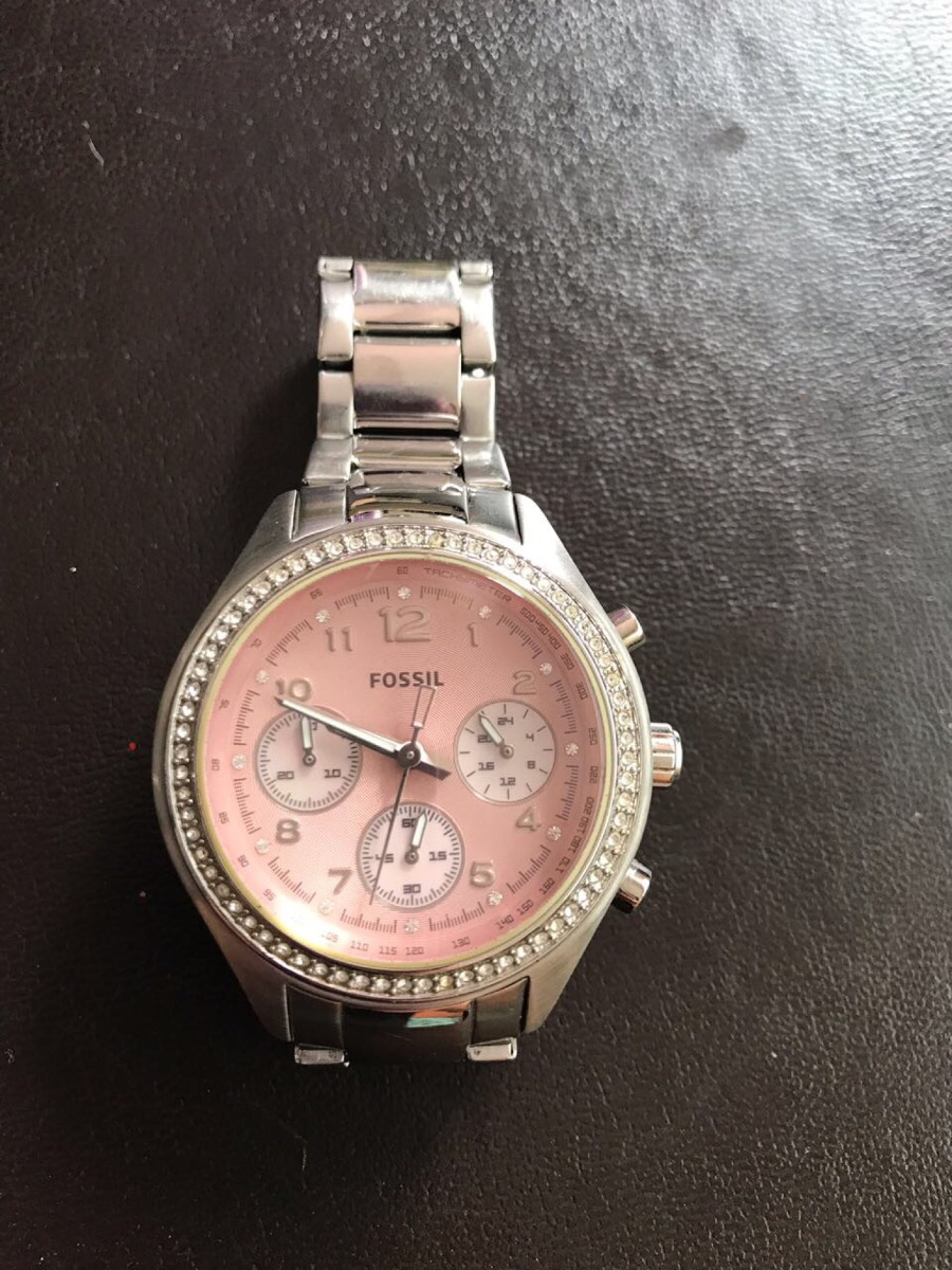 4224389e77f6 reloj fossil mujer ch2798 plateado. Cargando zoom.