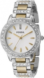 reloj fossil mujer combinado original