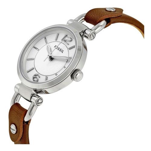 reloj fossil mujer es3861 - cuero - 100% original en caja