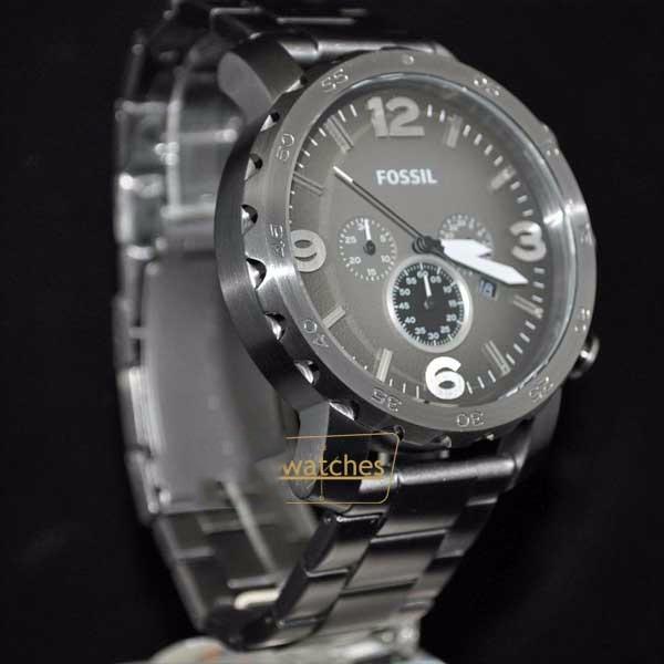 Reloj Fossil Nate Jr1437 Acero Gunmetal Original Garantía - S  529 ... f4594eca8a2f