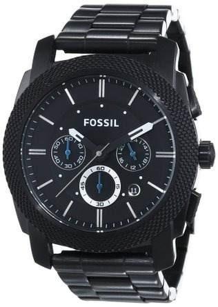 reloj fossil  negro masculino