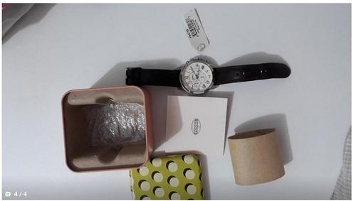 reloj fossil original  fs4735  brazalete 100% de cuero.