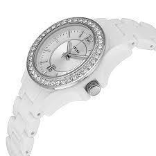 reloj fossil original mujer es3251 blanco luminisense w/caja