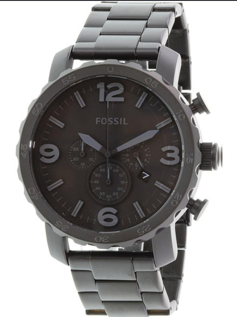 9e869d64e715 reloj fossil para caballero de acero color negro mate jr1401. Cargando zoom.