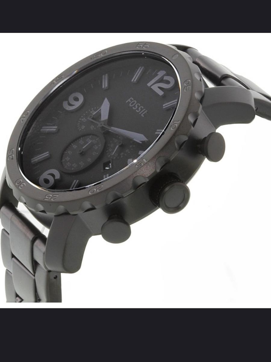 3ea41762c35f reloj fossil para caballero de acero negro mate jr1401. Cargando zoom.
