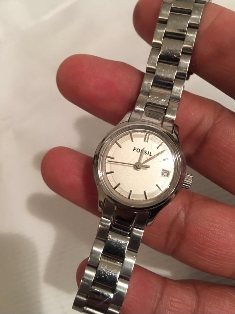 5a3d5bb0d1d9 reloj fossil para dama acero inoxidable original fechador. Cargando zoom.
