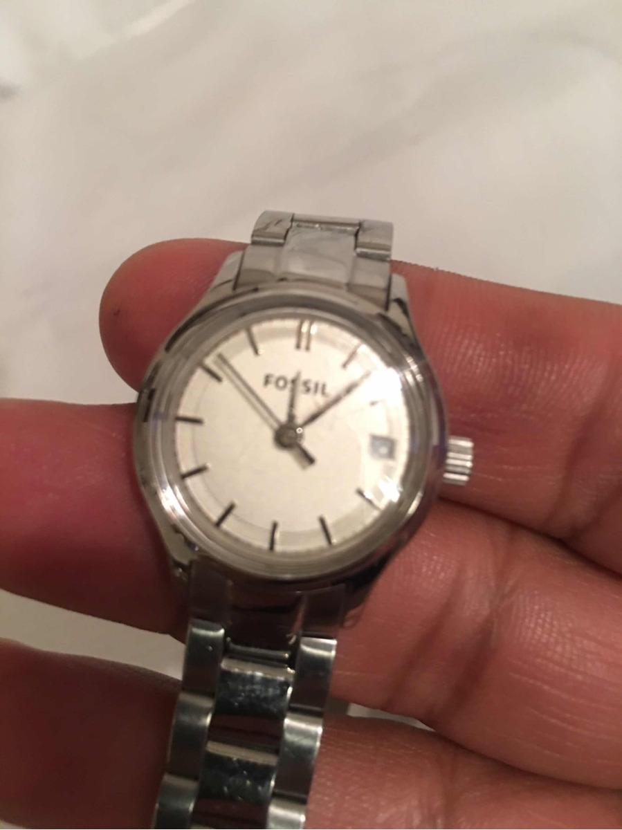 b16c32f507ac reloj fossil para dama acero inoxidable original fechador. Cargando zoom.