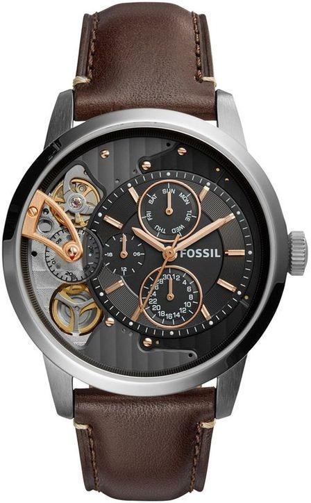 8289f71ad502 Reloj Fossil Para Hombre Me1163 Townsman Automático Con -   6