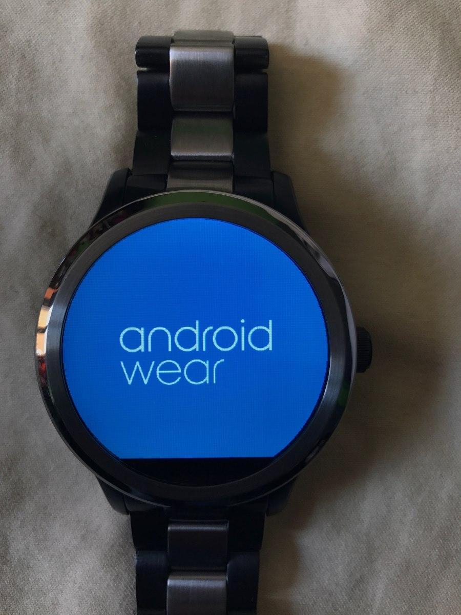 Reloj Fossil Piel Marshall Founder Smartwatch Touch