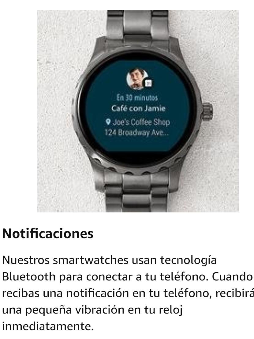 f29795ce8091 reloj fossil q hombre smartwatch ftw4001. Cargando zoom.