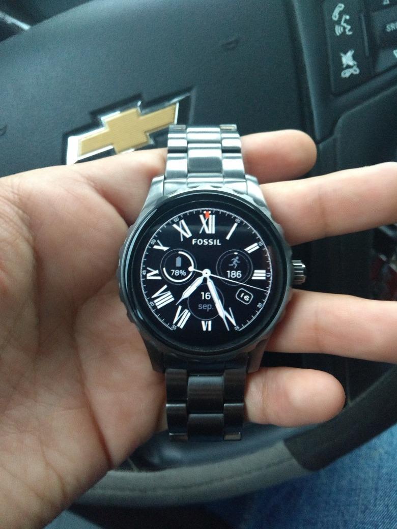 Reloj Fossil Q Marshal Smartwatch 420000 En Mercado Libre Cargando Zoom