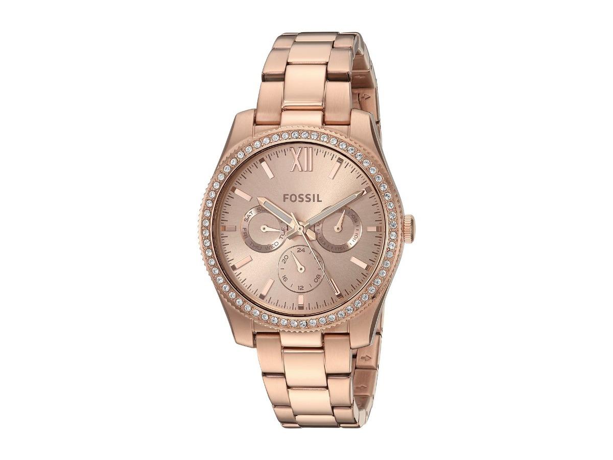 731e8b11ff4b reloj fossil scarlette es4315 dama oro rosa acero inoxidable. Cargando zoom.