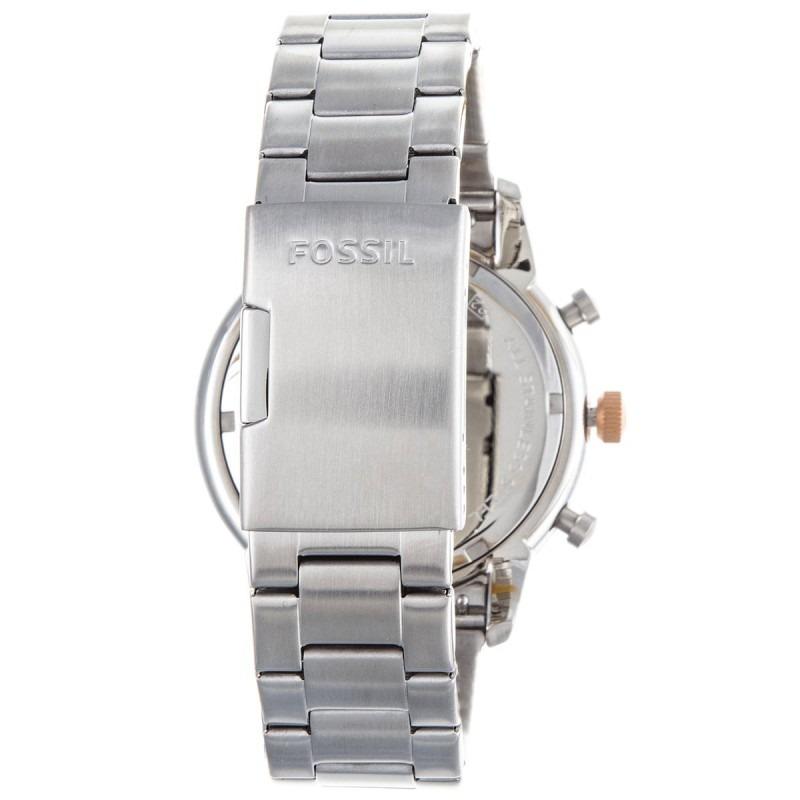 b8061ebe4065 reloj fossil townsman fs5407 crono plateado hombre original. Cargando zoom.