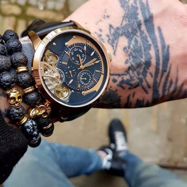 Reloj Envío Hombre Me1162 Original Gratis Townsman Fossil nmy8wO0vN