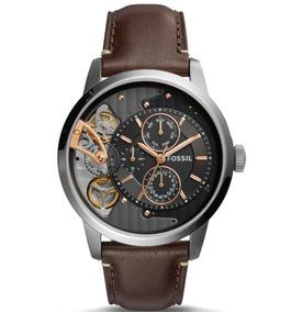 Fossil Reloj Me1163 Automatic Café Cuarzo Y Twist Townsman UVzLqSGMp