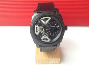 400bb3c99 Reloj Fossil Me3003 A Pulso Sin Pila Cuero Automatico - Reloj de ...
