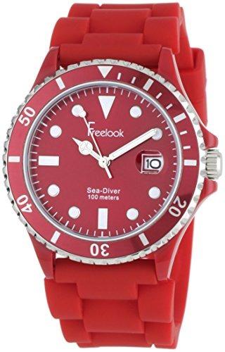 reloj freelook ha rojo