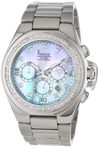 reloj freelook  plateado