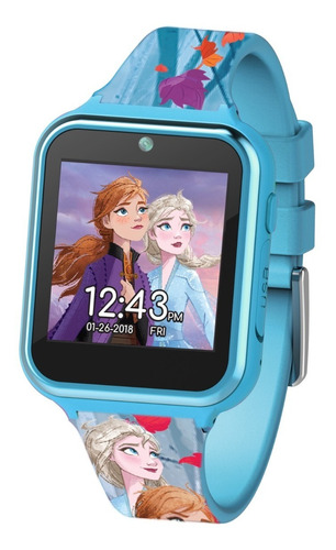 reloj frozen 2 smart watch ana elsa olaf niña regalo navidad