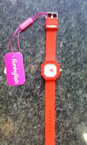 reloj funkyfish. original.