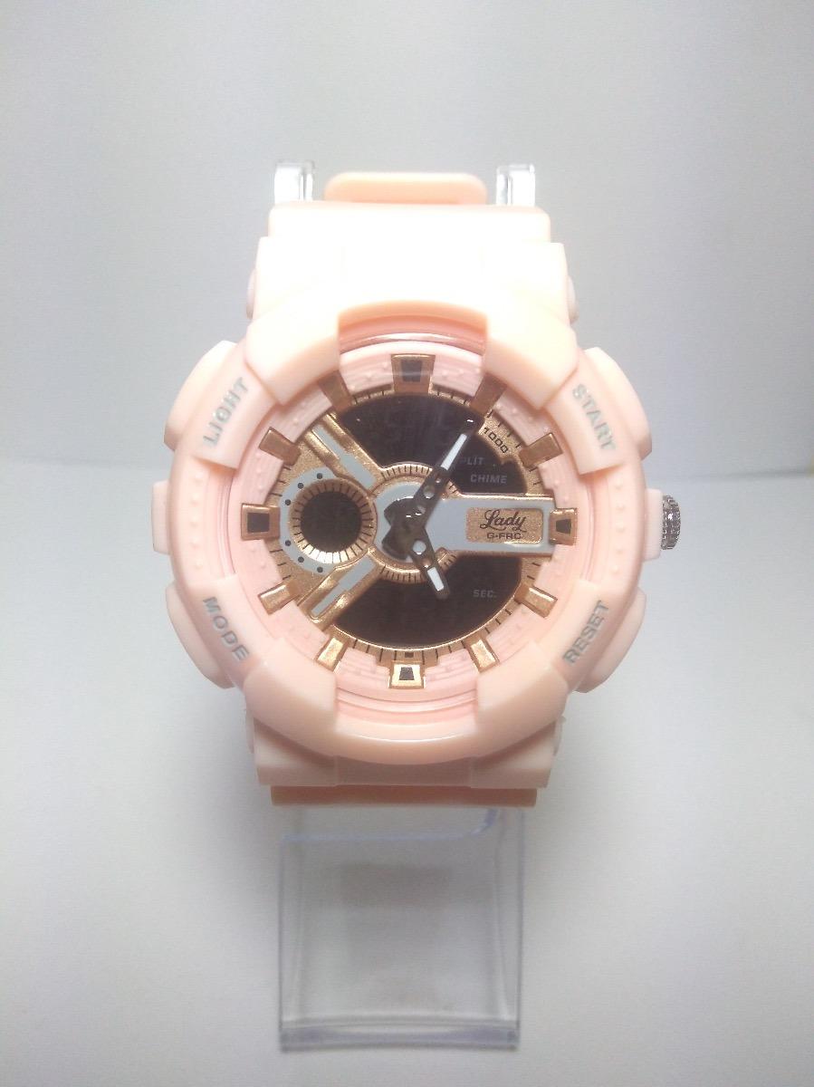 db817c34c1e0 reloj g force sport mujer resistente al agua dama deportivo. Cargando zoom.