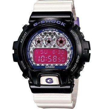 reloj g-shock blanco con negro