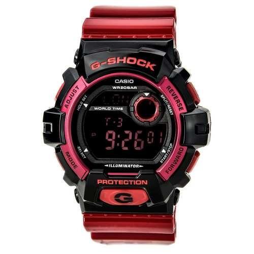 reloj g-shock rojo masculino